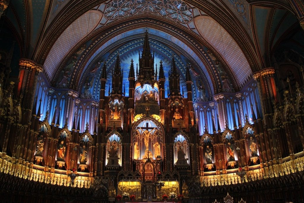 The Quick Guide To Notre Dame Basilica in Montreal